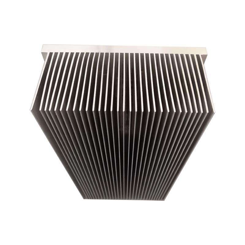 High Power Aluminum IGBT heatsink With High And Dense Fins