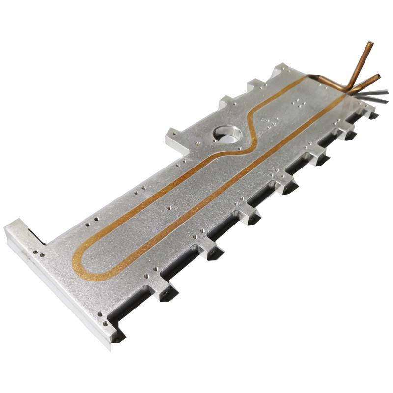 Water cooling plate for IGBT modules