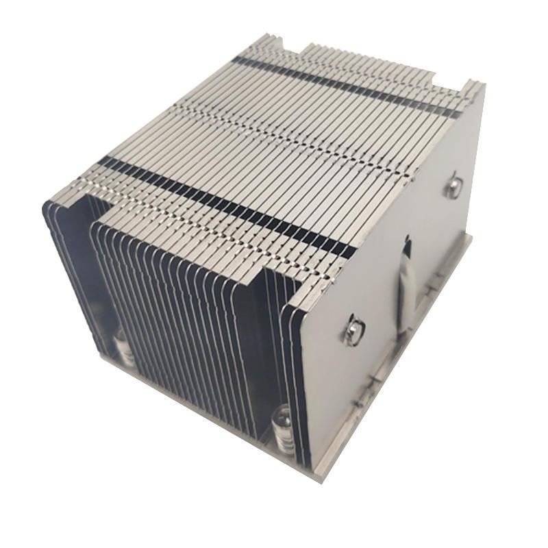 LGA 2011/2066 2U active 3 heat pipe server Desktop Computer CPU heat sink manufacturer processing customized aluminum fin heat sink