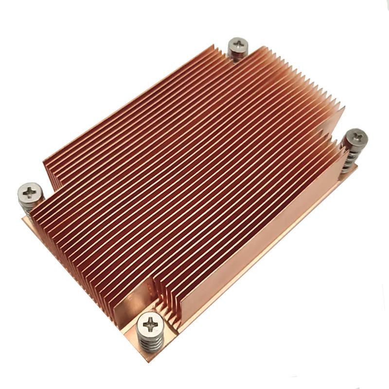 Intel CPU LGA2011 Narrow 1U  Server  Passive Copper heat sink