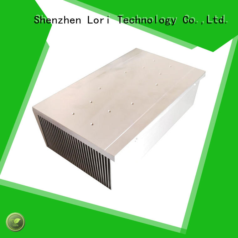customized heat sink extruded with good price bulk production
