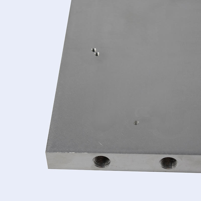 Friction stir welded water cooling plates LR0116-1