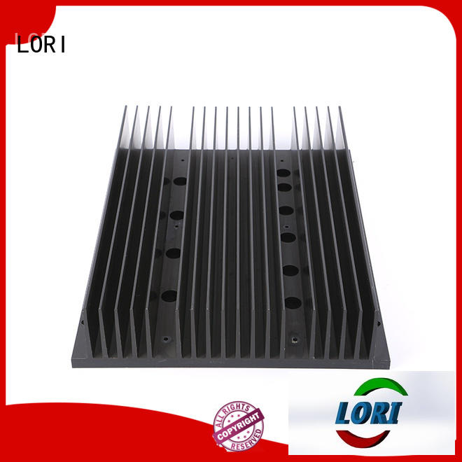 LORI extruded heat sink for telecom