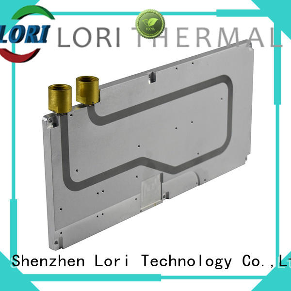 LORI exposed liquid cold plate bulk production for electronics