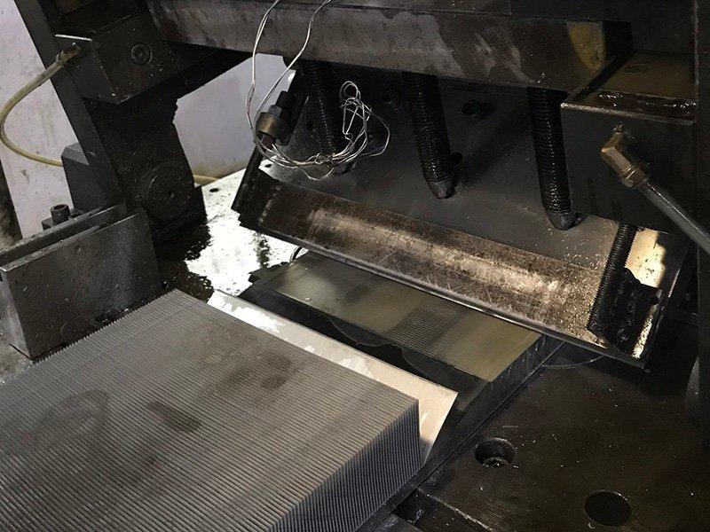 Skived Fin Heat Sink Factory Work Shop