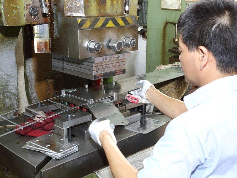 Stamping Heat Sink Factory Workshop