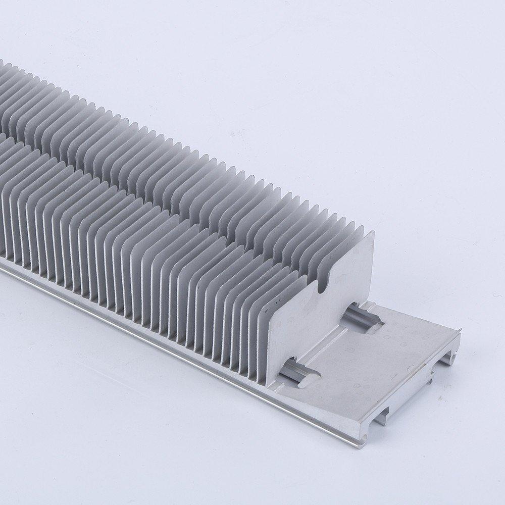 customized aluminum skived fin heat sink