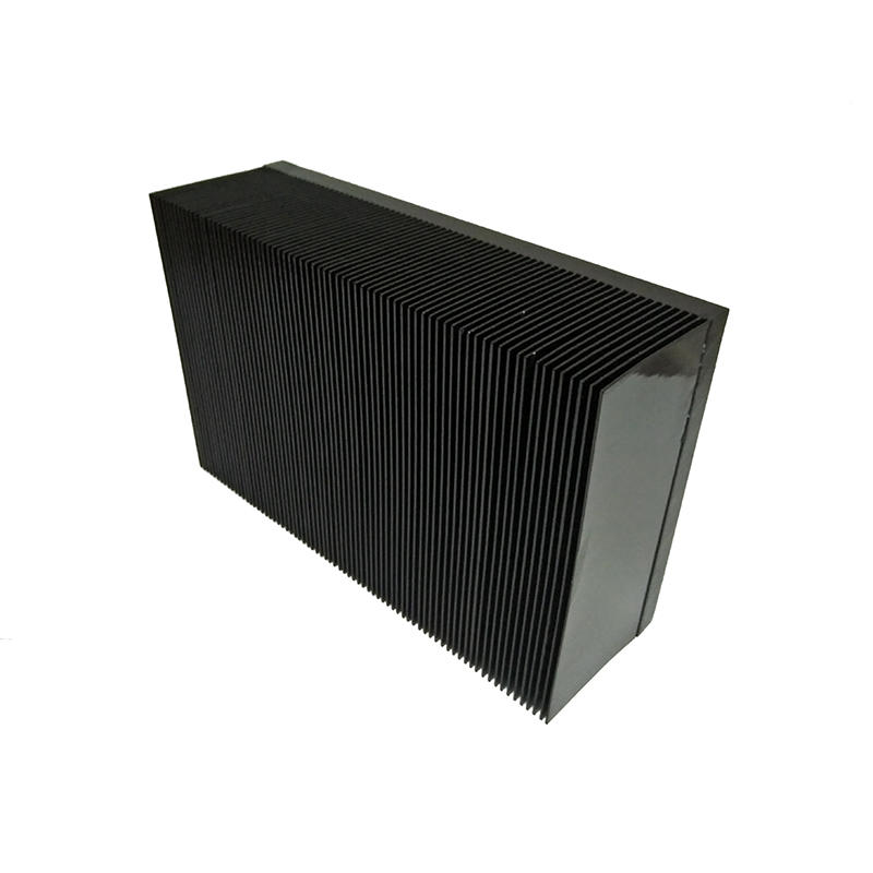 Skived Fin Heat Sink with black anodized From Lori