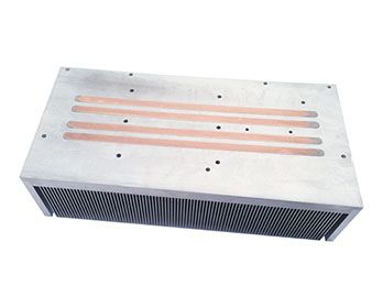 Inserts + heat pipes