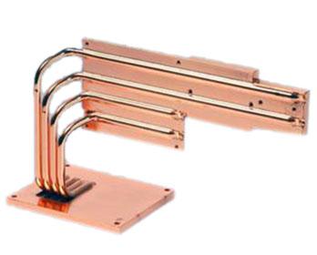 copper plate + heat pipe