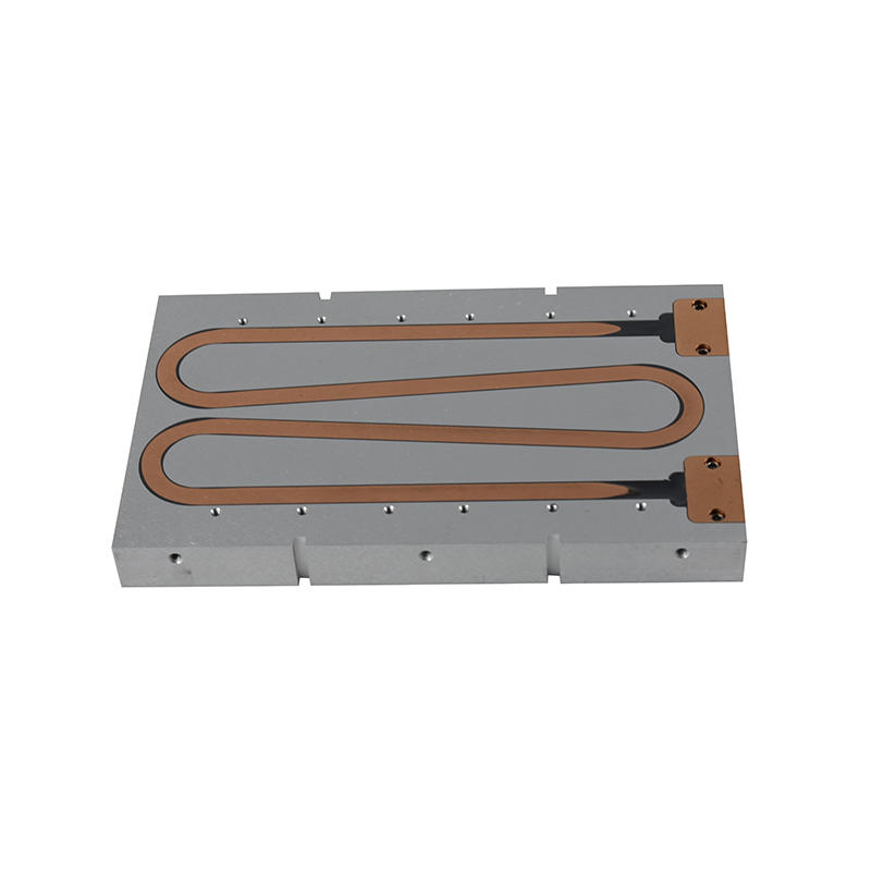 Aluminium Cold Plate Heat sink Liquid Cooling  for igbt LR0019