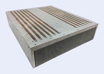 Large Bonded fin heat sink