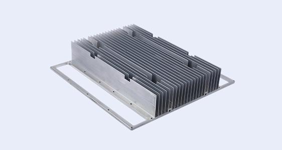 large extruded aluminum heatsink
