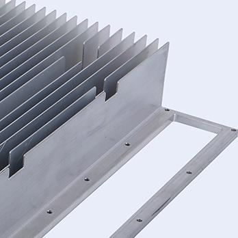 large extruded aluminum heat sink
