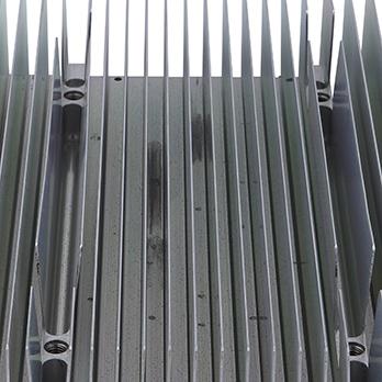 large extruded aluminum heat sinks