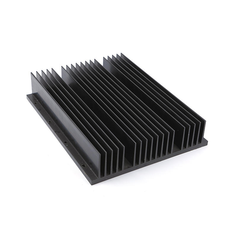 Extruded Aluminum Heatsink Black Anodized Lori