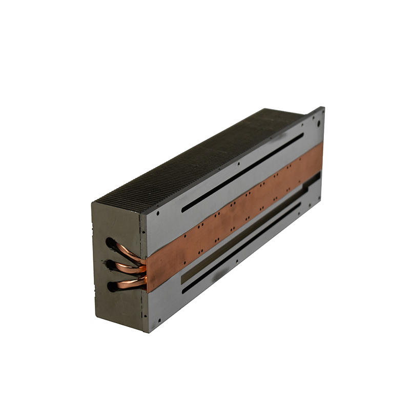 Zipper Fin Heat Sink With Soldering Heat Pipe LORI