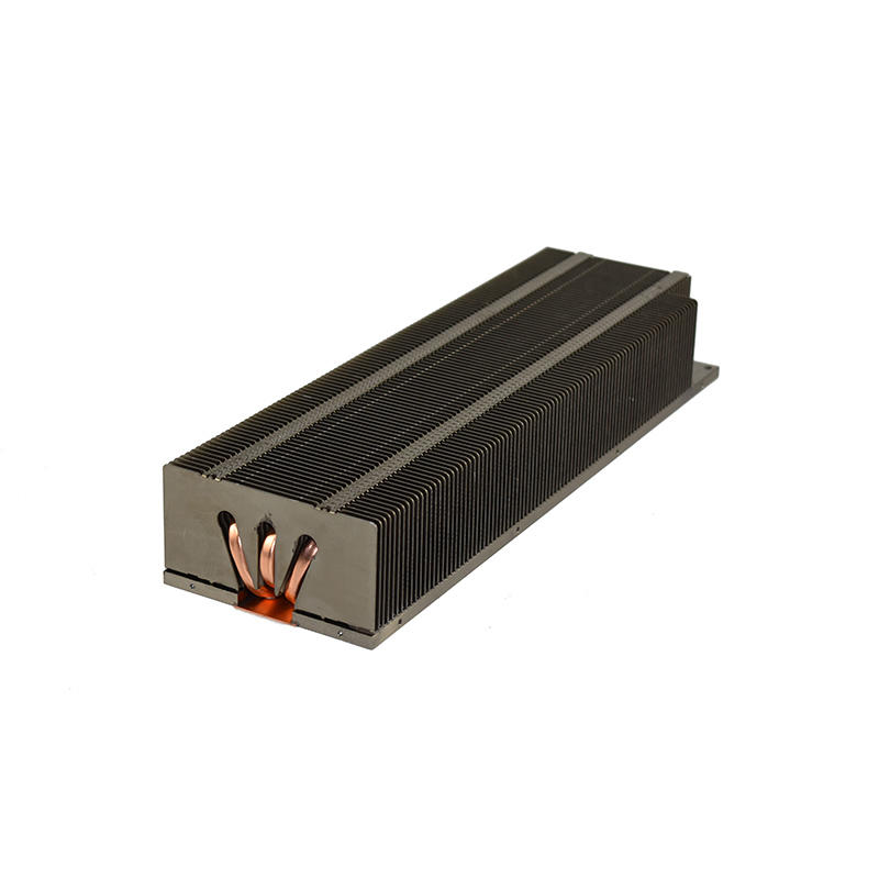 Custom Zipper Fin Heat Sink With Soldering Heat Pipe LORI