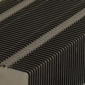aluminum stamped fin