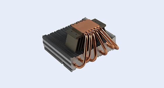 6 heat pipe cpu cooler
