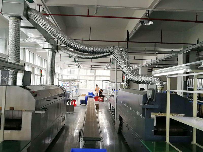 Soldering Heat Sink Factory  Workshop