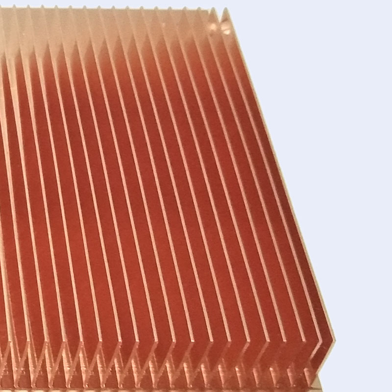 Skived fin heatsink