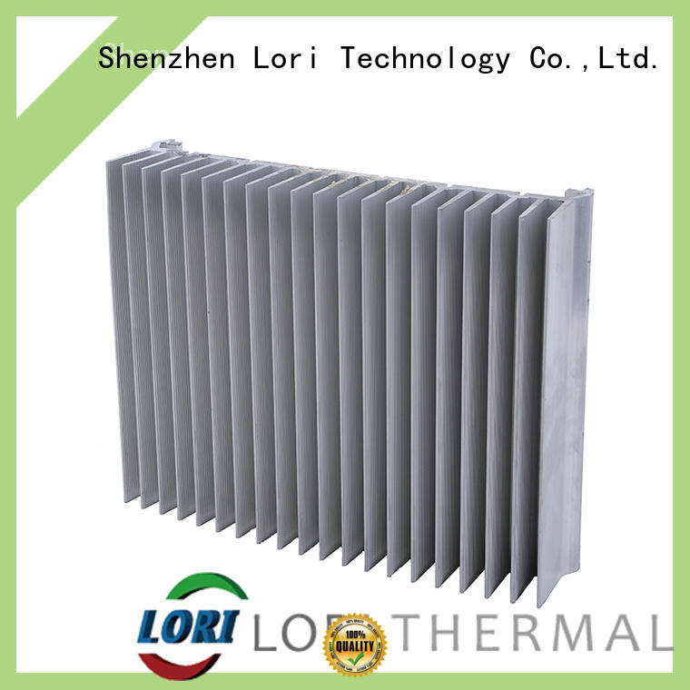 LORI square heat sink extrusion passive for power device