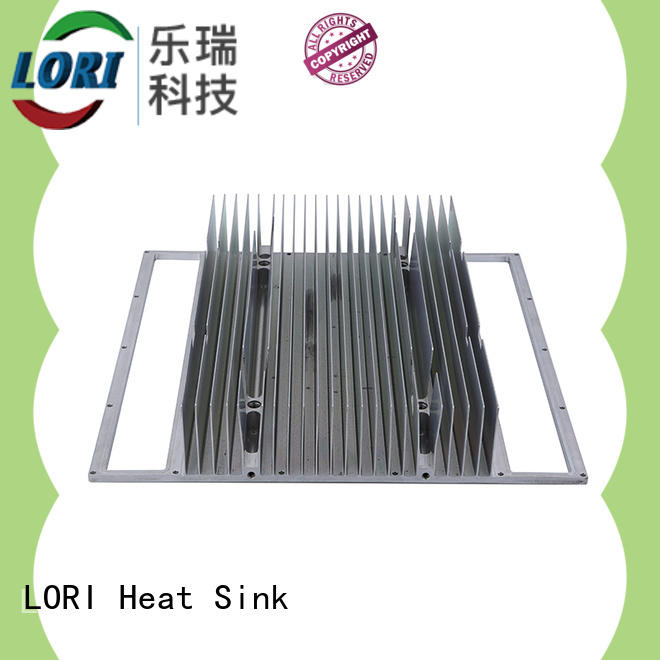 black heatsink enclosure passive for telecom LORI