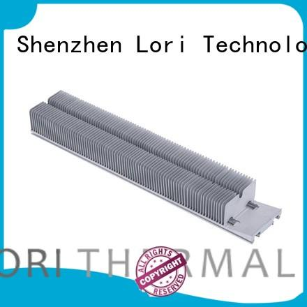 density power aluminum heat sink anodized LORI company