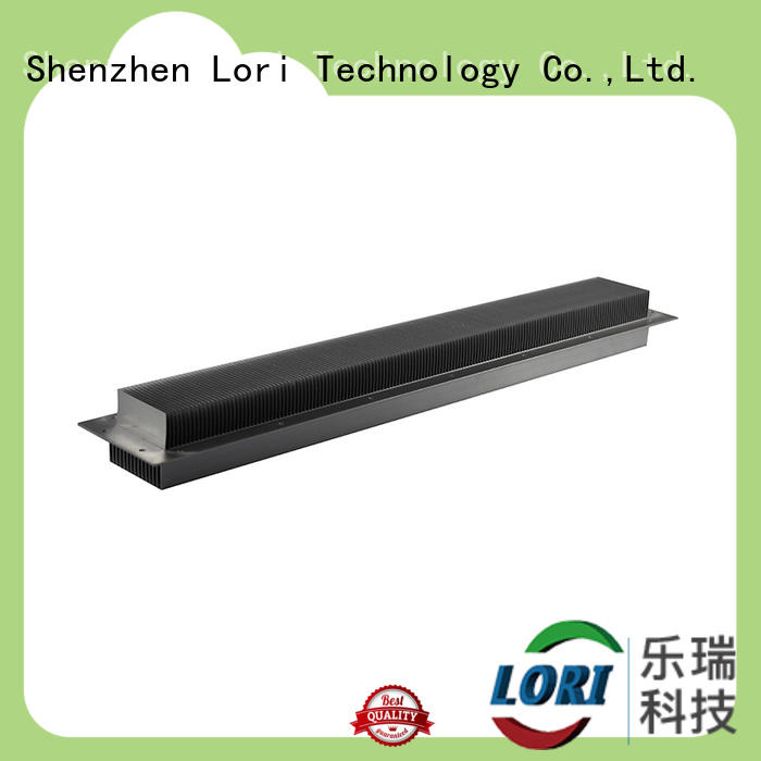 black skived heat sinks pure for device LORI