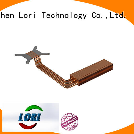 round base OEM copper heat sink LORI