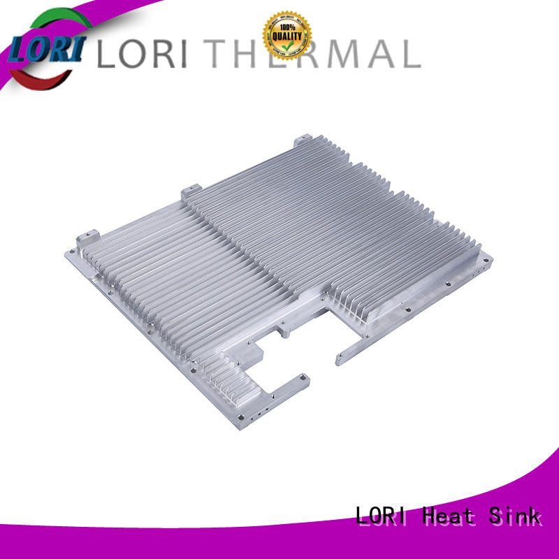 LORI anodized aluminum heat sink communication system for telecom