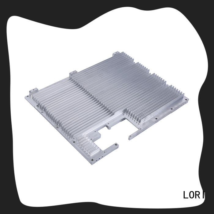 led light heatsink black for cnc machining LORI