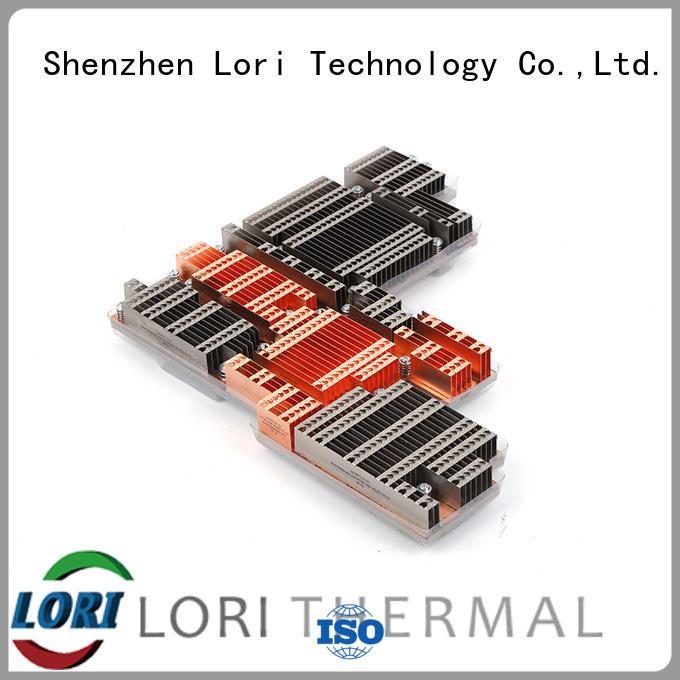 LORI Brand round fins base copper heat sink