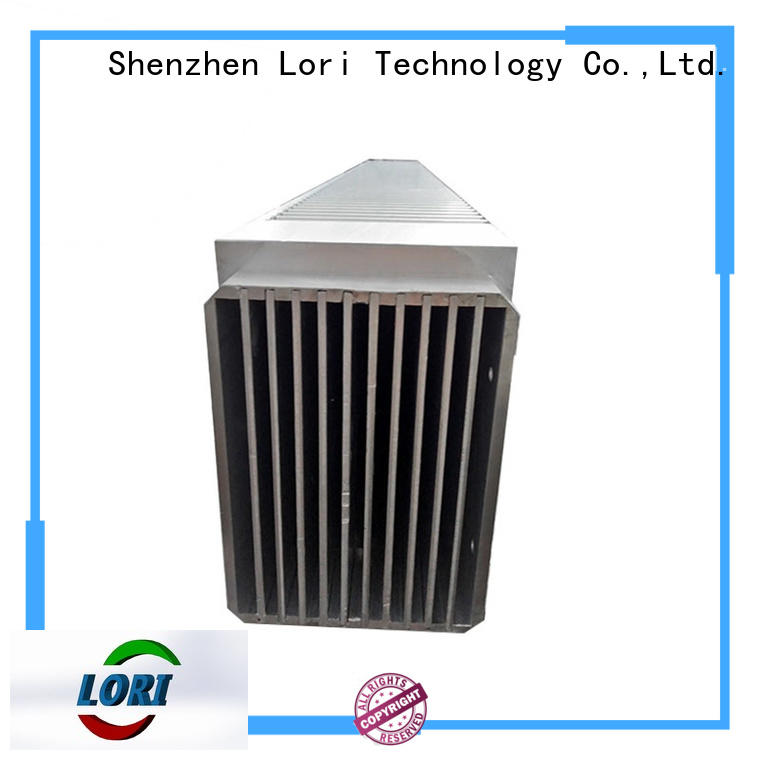 copper bonded fin heat sink radar for controllers LORI
