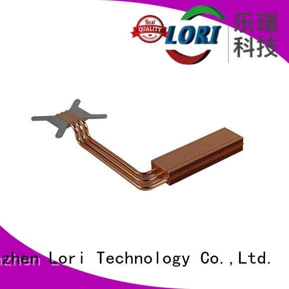 LORI Brand heatsinks zipper stamping copper cpu heatsink