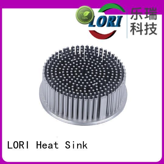 LORI functional cold forging heatsink round cob for UPS