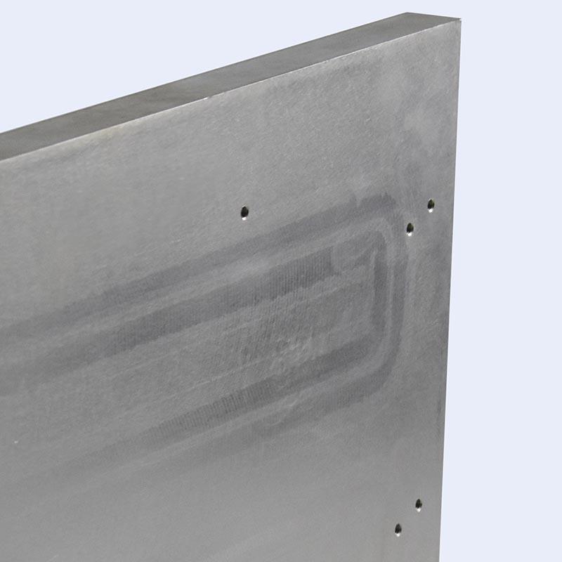 Friction stir welded water cooling plates LR0116-3