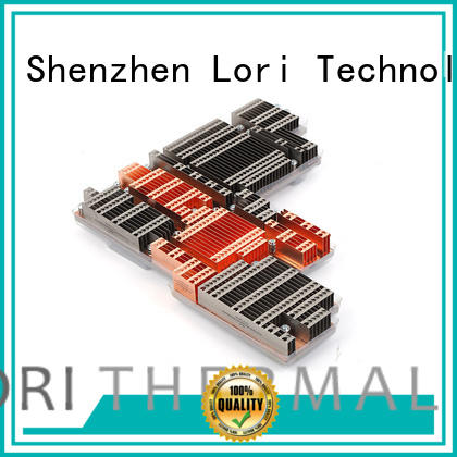 stamping large heat sink factory price for cooling LORI