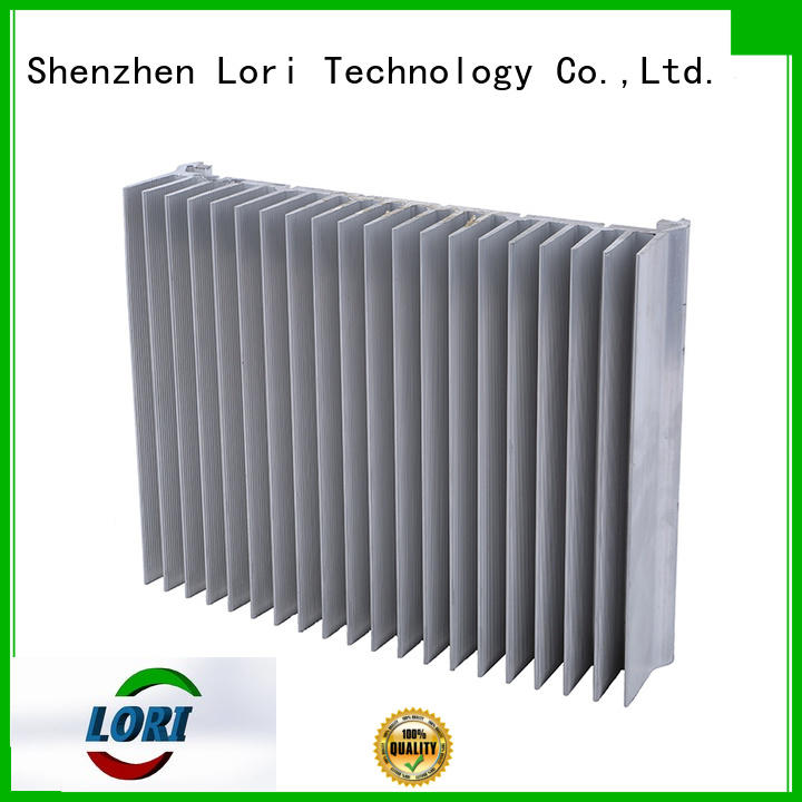 LORI top brand heat sink extrusion anodized for telecom