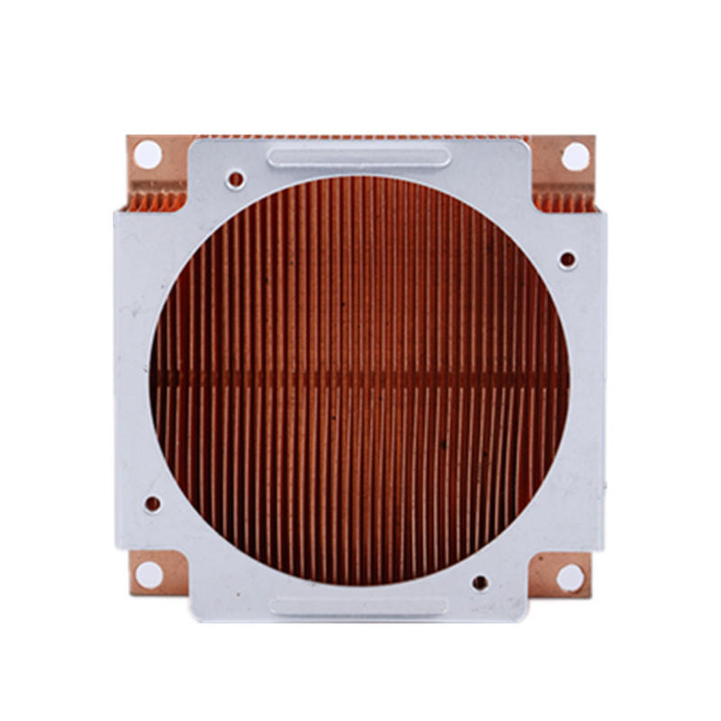 China Copper Skived Fin Heat Sink  From Lori