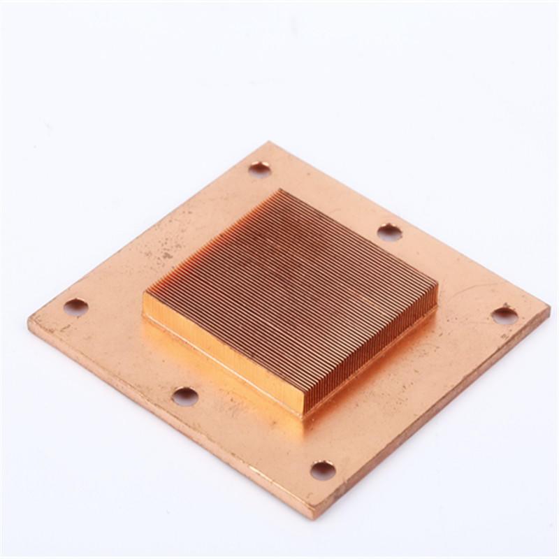 Skived Heatsinks Copper