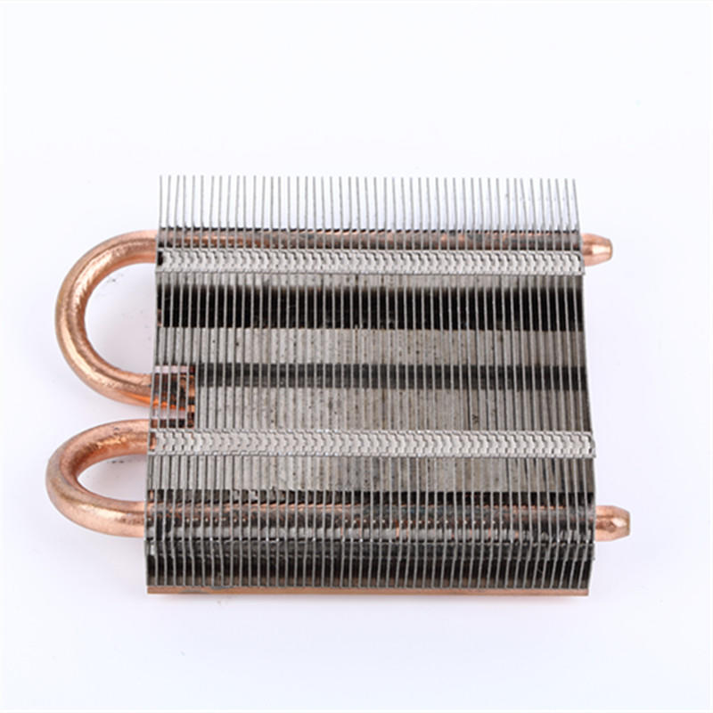 Heatpipe Heatsink With Aluminum  Stamping Fin For Computer