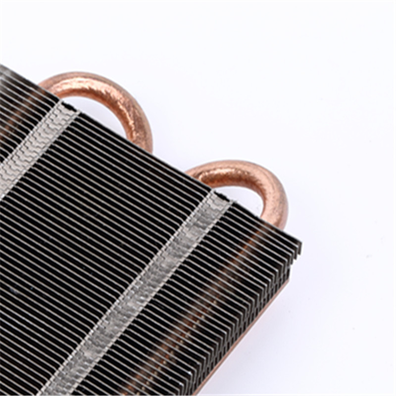 Heatpipe Heatsink with stamping fin