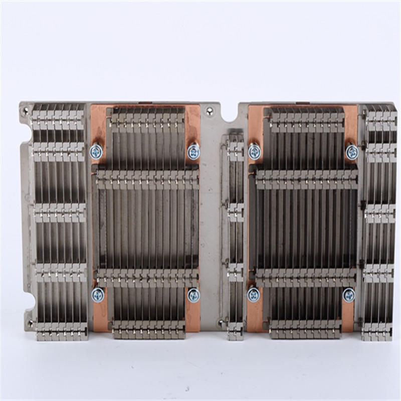 Zipper Fin Heat Sink Aluminum