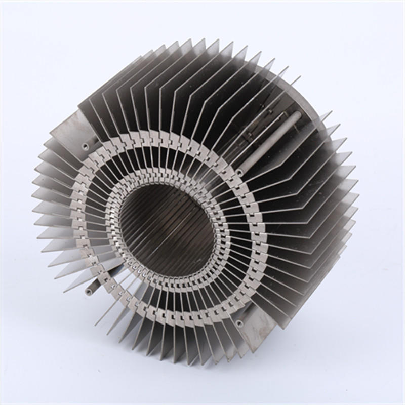 Zipper Fin Heat Sink For LED Heatsinks