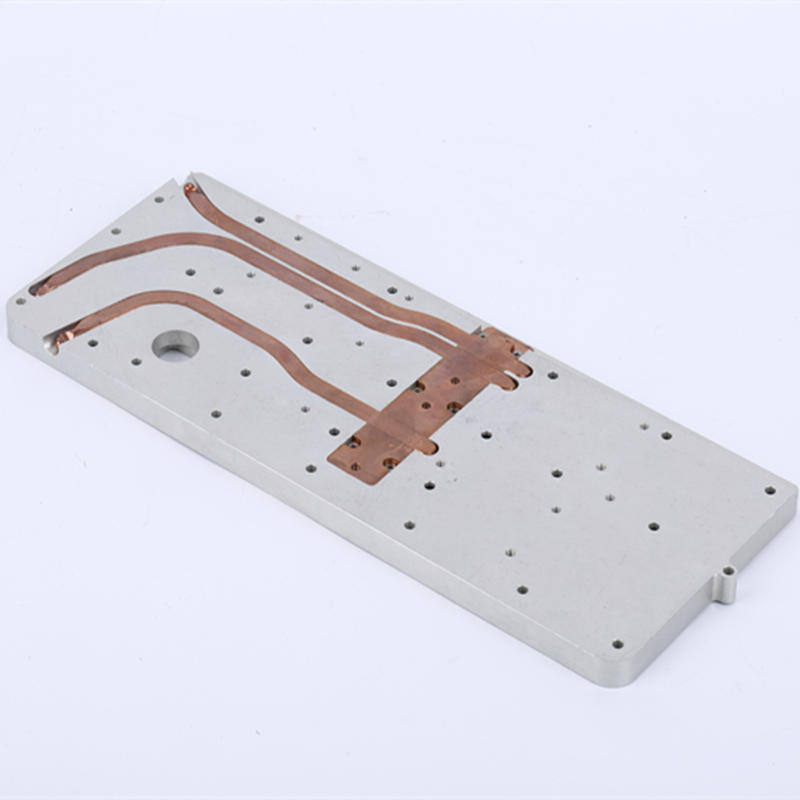 Heat Pipe Heat Sink Module With Aluminium Plate