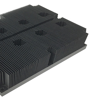 custom skived fin heat sink
