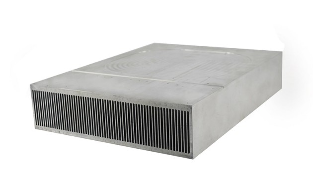 stacked fin heat sink