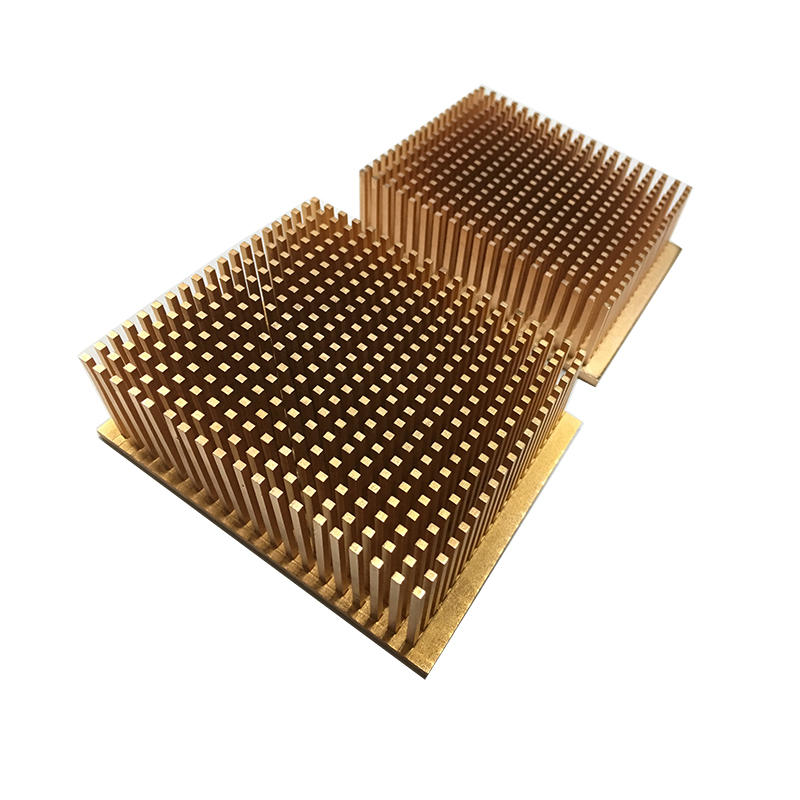 Cold forging copper pin fin heat sink Lori